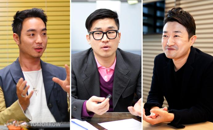 SADI alumni - Jaeyong Jang, Hyun-Min Han, Dongseok Lee