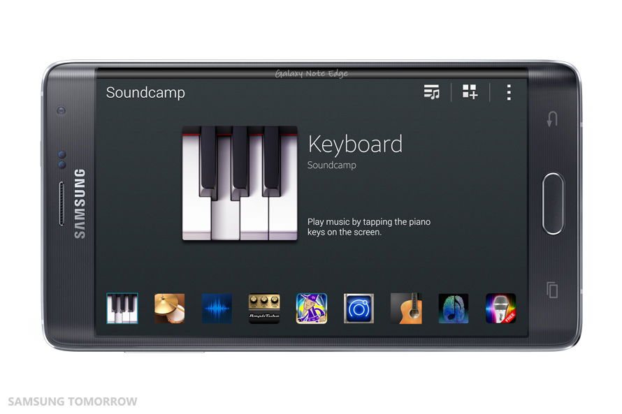 Samsung Soundcamp_Keyboard