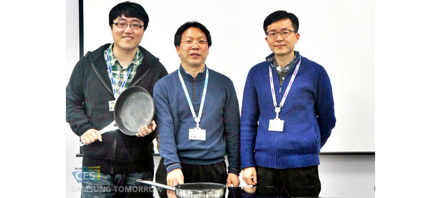 Samsung engineers who contributed in creating the virtural flame technology