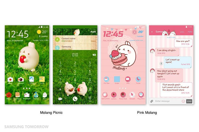 GalaxyS6_Molang_Theme_Main