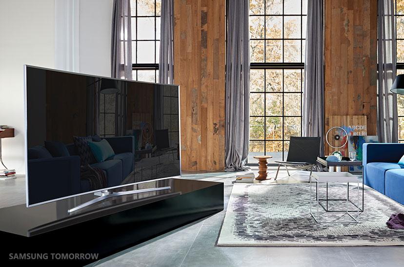 editorial the 360 design behind samsung s suhd tv samsung global newsroom. Black Bedroom Furniture Sets. Home Design Ideas