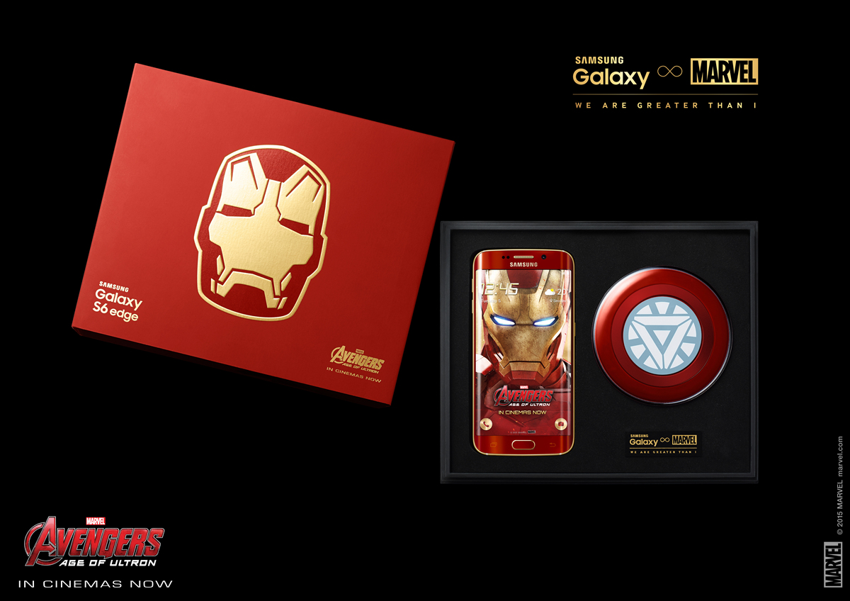Galaxy S6 edge Iron Man Limited Edition_KV1
