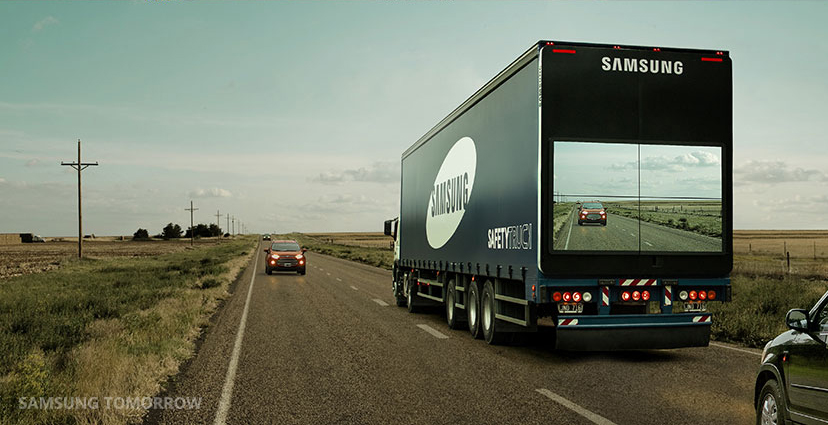 The Safety Truck Could Revolutionize Road Safety Samsung Global
