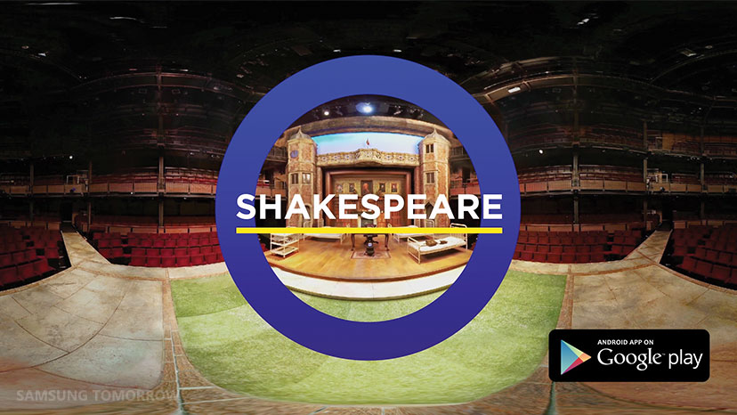 Samsung Unveils RE:Shakespeare App, an Encounter of Digital and Literature