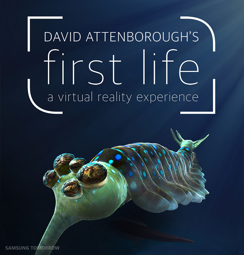 journey back to the ancient ocean with samsung gear vr