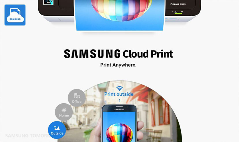 Samsung Leads the Future of Mobile Printing