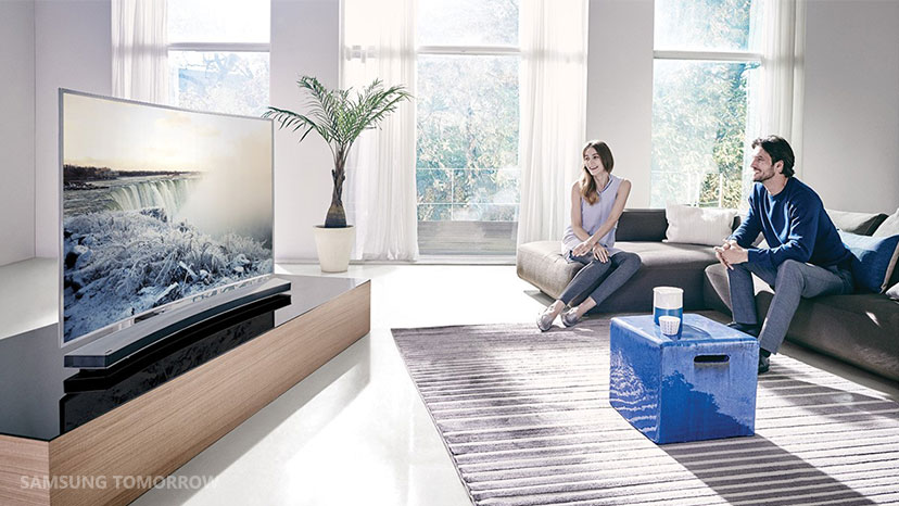What does tv mean to you samsung global newsroom for Samsung smart tv living room