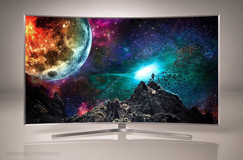 4k Suhd Tv Of Samsung Electronics