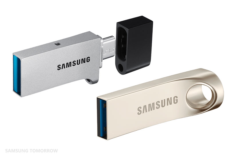 Samsung Offers a More Complete Branded Memory Portfolio With the New USB Flash Drive Family