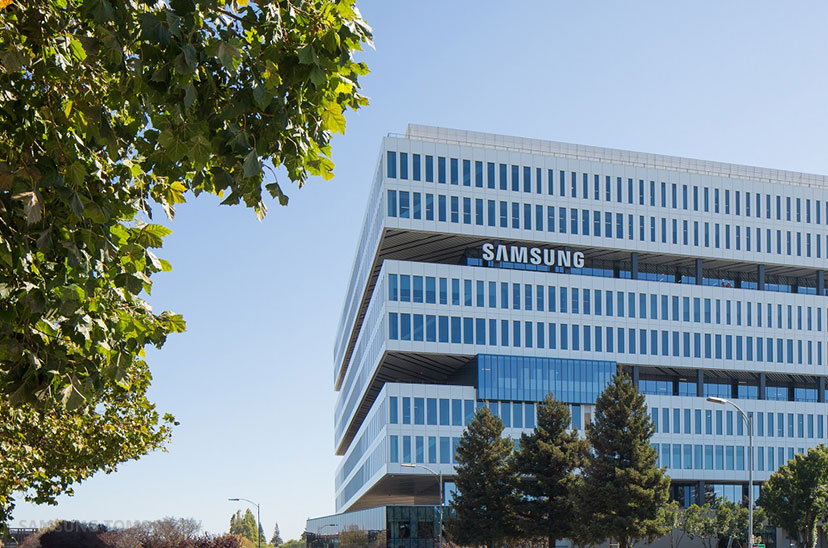 Samsung Semiconductor's new North American headquarters in San Jose, CA is a ten-story building with approximately 1.1 million square feet of space.