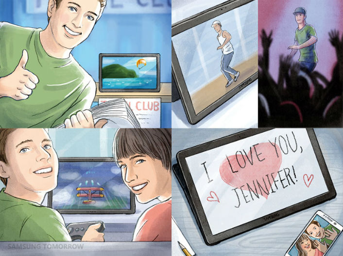 View to a Thrill: Expressing Themselves with the Galaxy View, Part 2