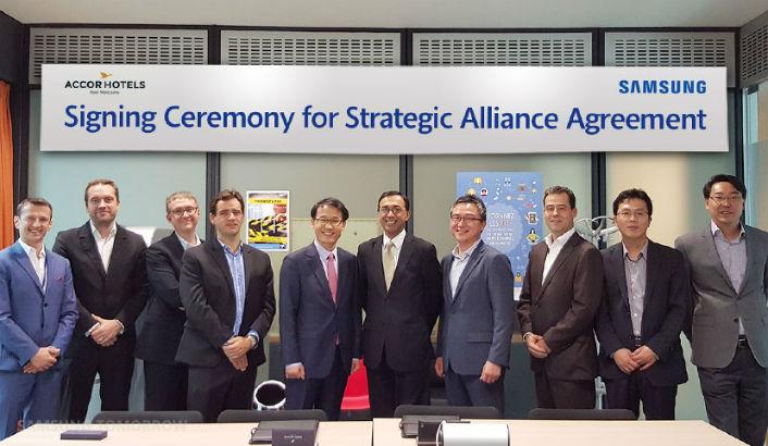 Samsung Electronics and AccorHotels Group Announce Strategic Partnership