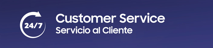 24/7 Servicio al cliente Samsung