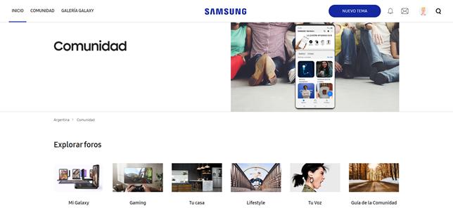 Comunidad Samsung Members. - Samsung agrega nuevas funciones a su apartado de Miembros