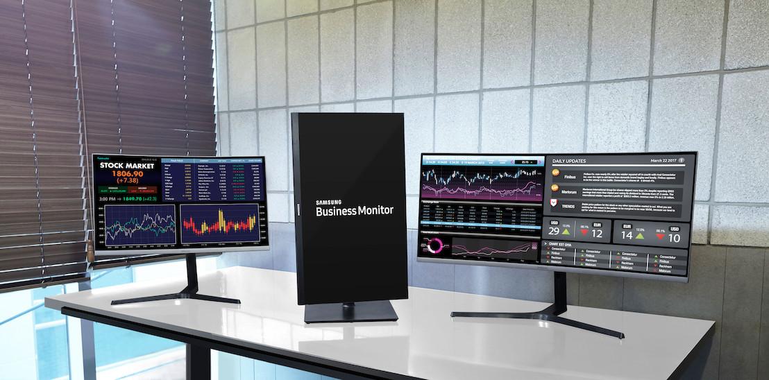 Samsung lanceert drie monitoren voor zakelijk gebruik op IFA 2017