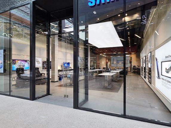 Samsung kiest Brussel voor nieuw winkelconcept