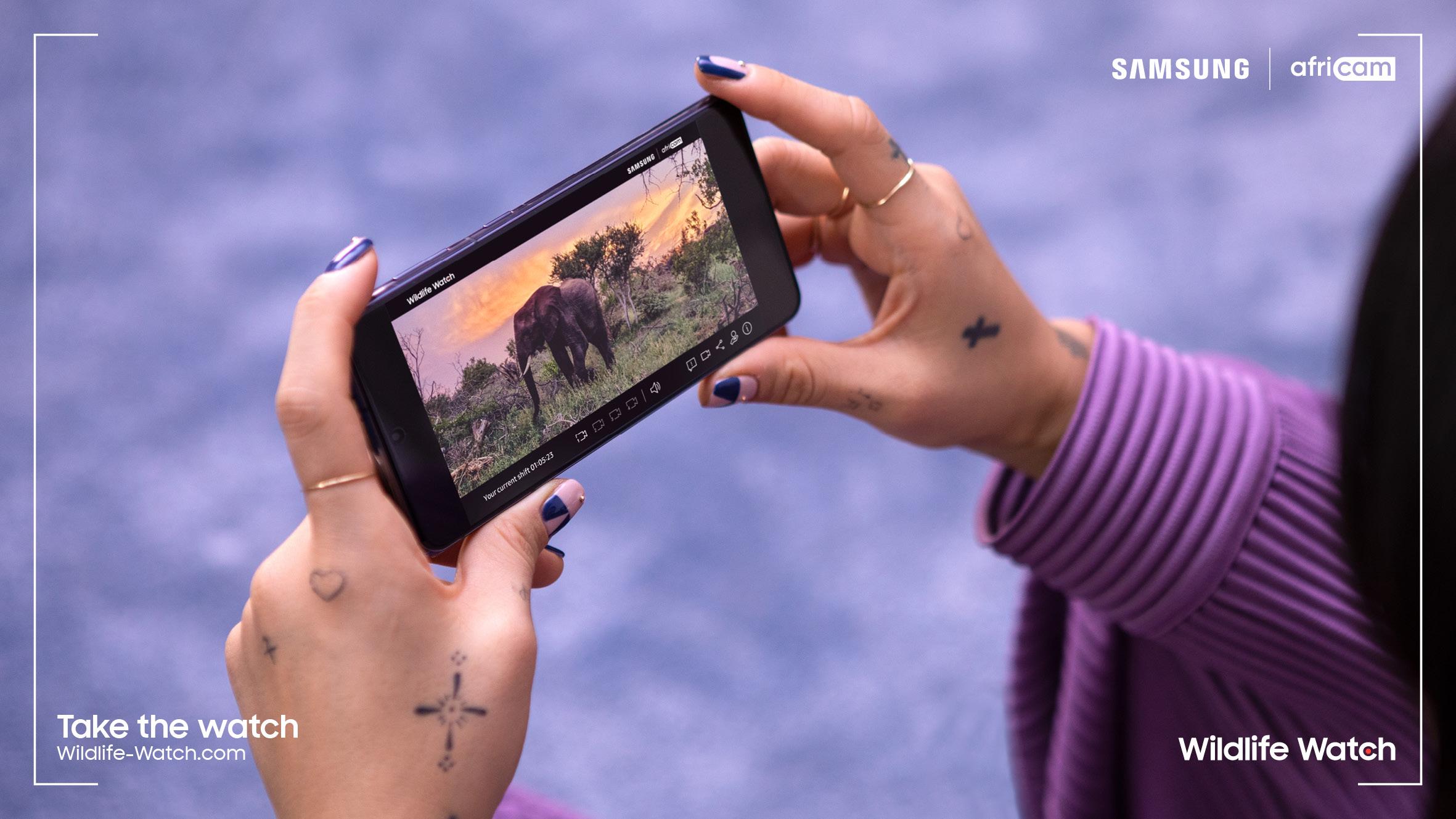 Wildlife Watch de Samsung vous invite à devenir un ranger virtuel et à surveiller en direct les espèces menacées du bush africain - Samsung Newsroom Belgique