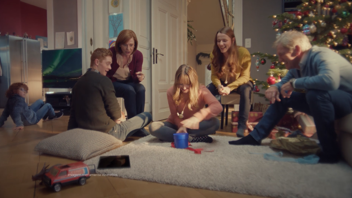 Samsung lança campanha exclusiva para o Natal