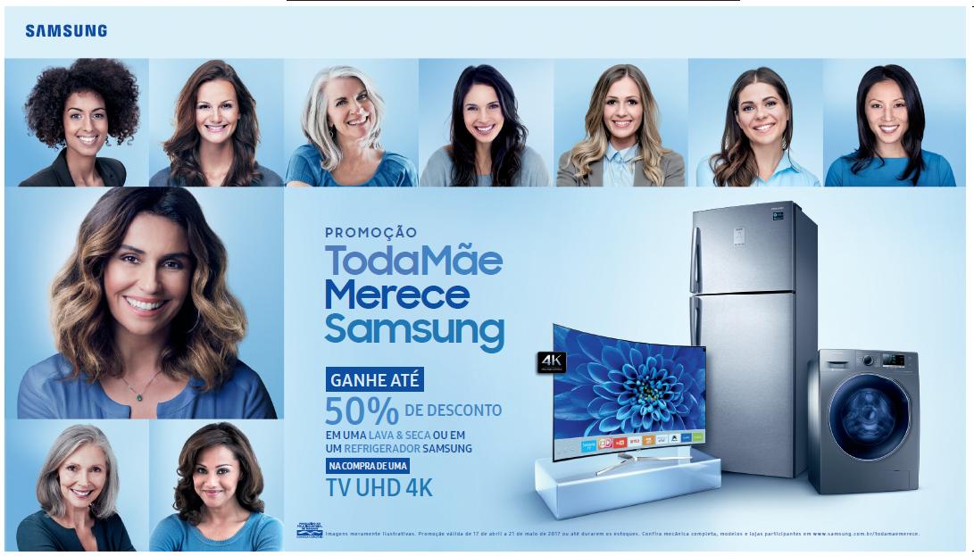 Resultado de imagem para Campanha: Toda Mãe Merece Samsung