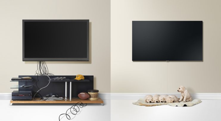 samsung lan a qled tvs nova categoria do segmento que redefine a experi ncia de assistir tv. Black Bedroom Furniture Sets. Home Design Ideas