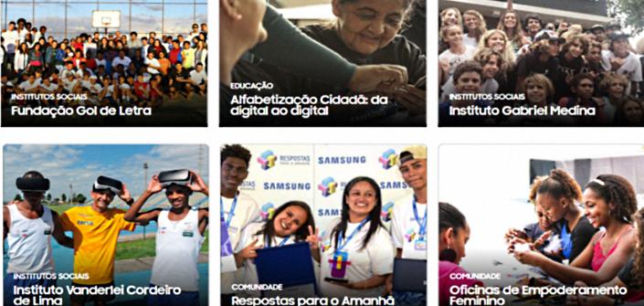 fb104e793b Tecnologia Samsung promove conhecimento e inclusão para um futuro mais  sustentável – Samsung Newsroom Brasil