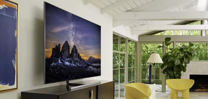 QLED TVs oferecem infinitas possibilidades para decorar a sua sala de estar  – Samsung Newsroom Brasil
