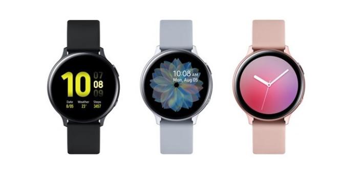Smartwatch: Galaxy Watch Active2 nas cores preto, branco e rosé, disponíveis a venda no Brasil