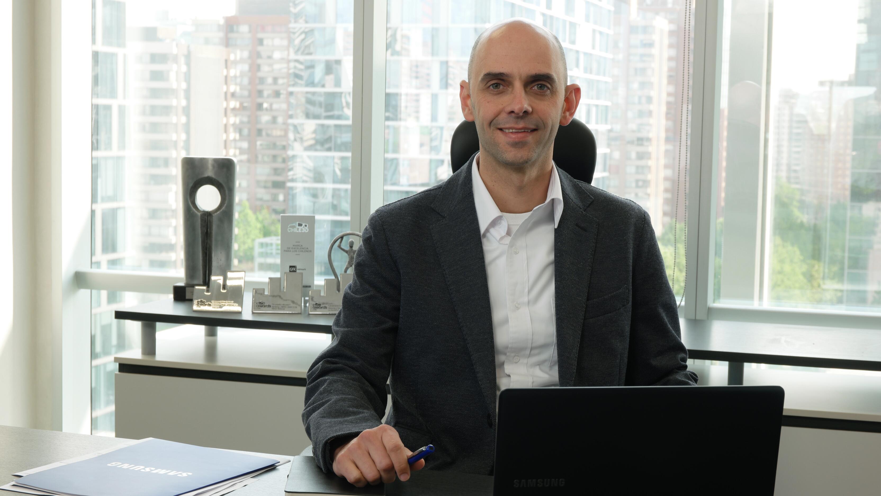 Leo Lima, Samsung Electronics Chile
