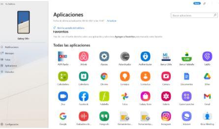 ¿Usar apps Android directamente en la pantalla del computador? Con un Smartphone Galaxy es posible – Samsung Newsroom Chile
