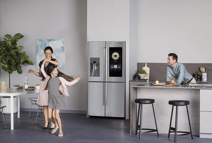 Kühlschrank Einkaufsliste Magnet : Samsung erfindet seinen kühlschrank neu u2013 samsung newsroom deutschland