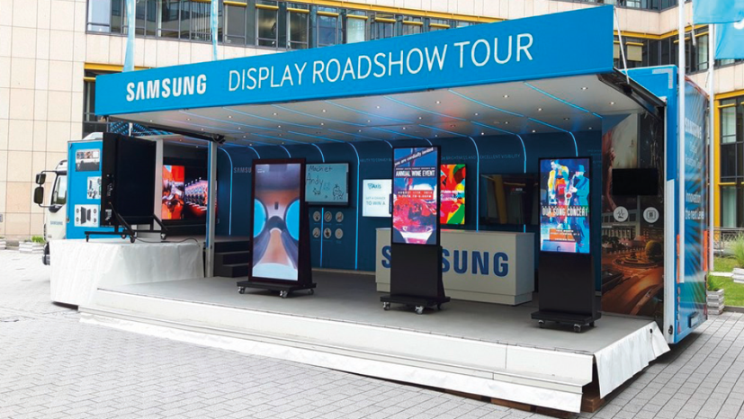 Smart Signage on the road