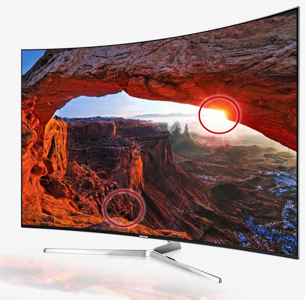 SUHD TV mit HDR+_Kontraste
