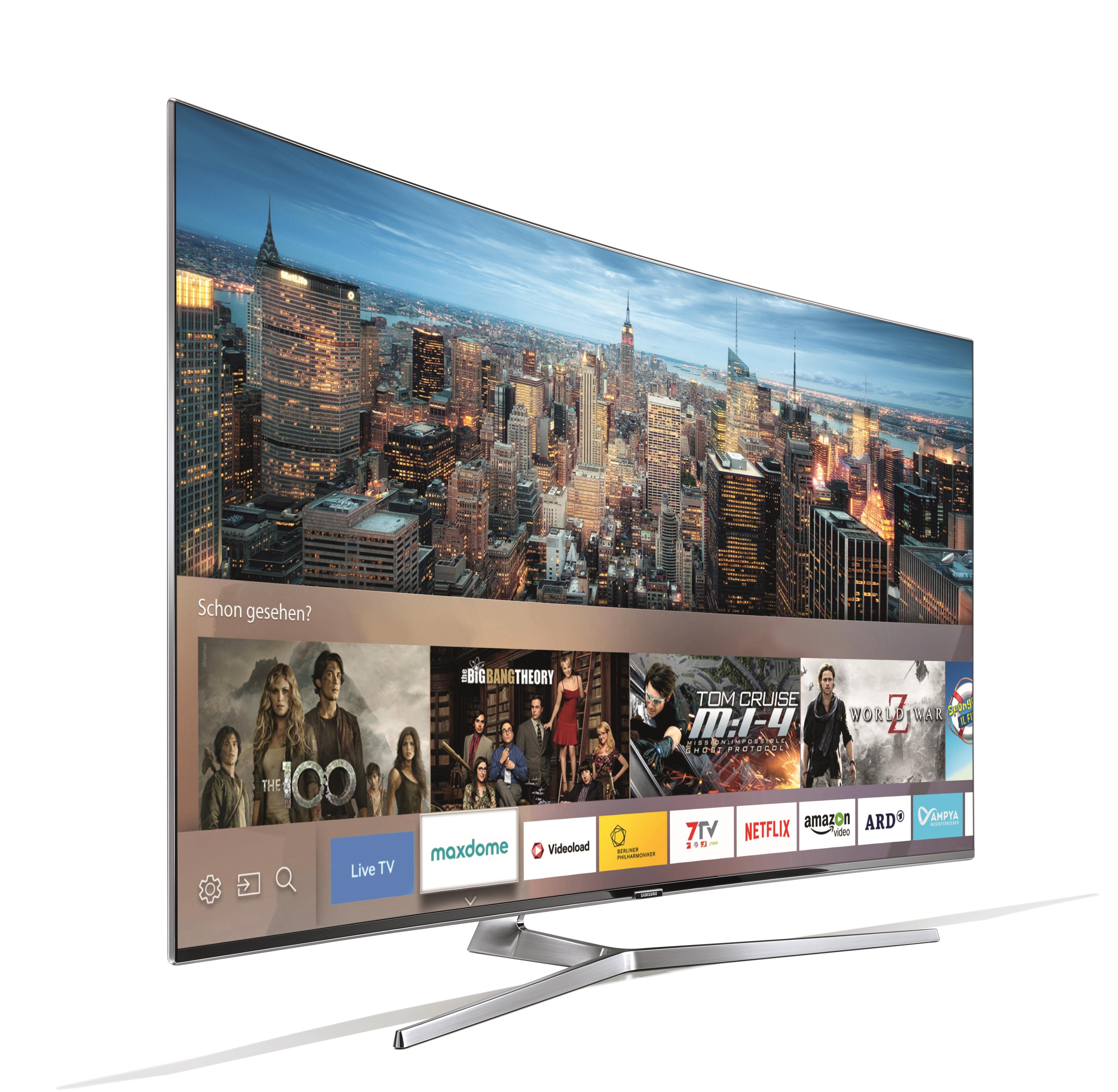 High Quality Auszeichnung Für Den Samsung Curved SUHD TV Mit Quantum Dot UE55KS9090: Im  Test Vergeben Die Pictures