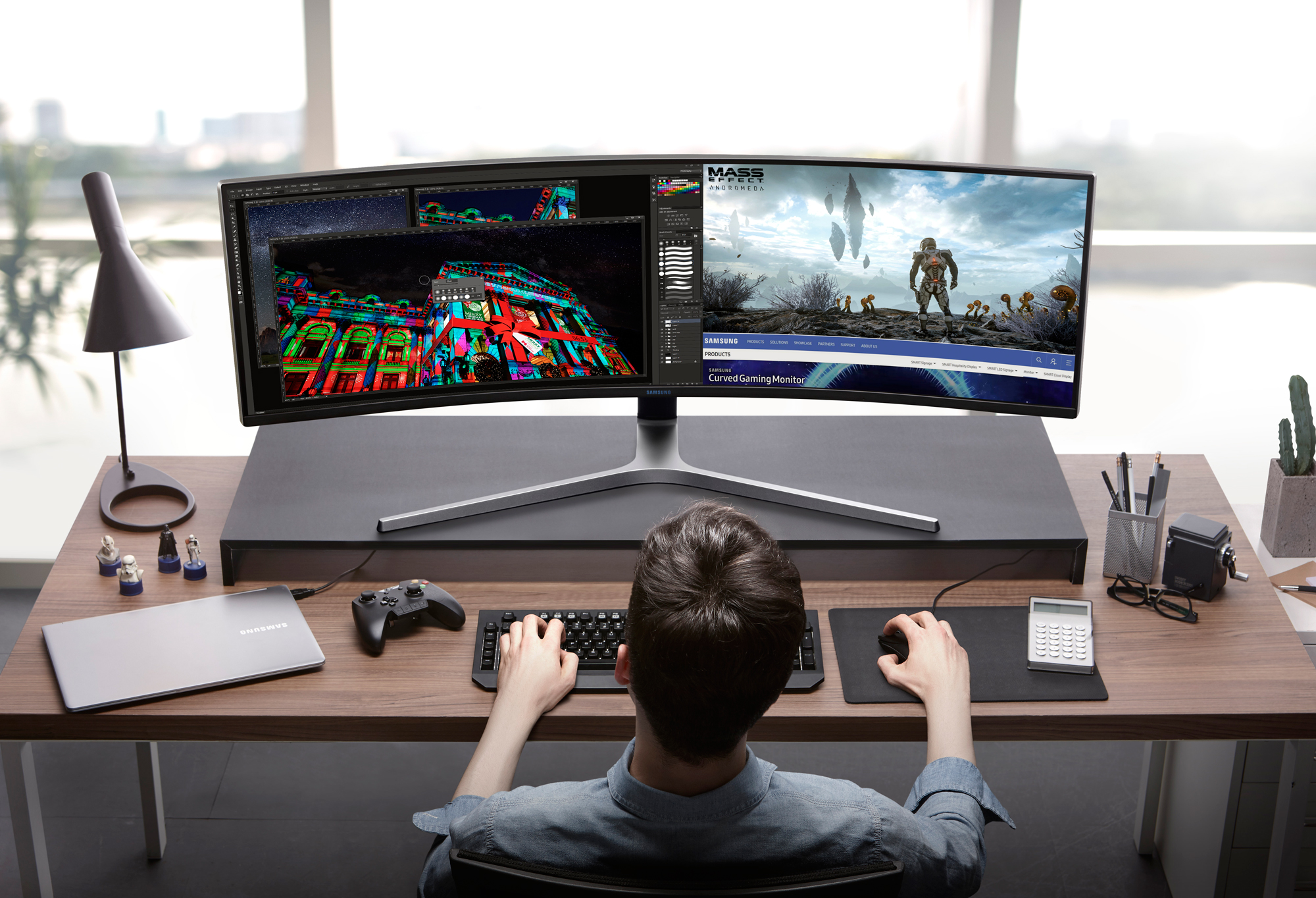 Game Changer: Samsung Electronics präsentiert erste QLED Gaming