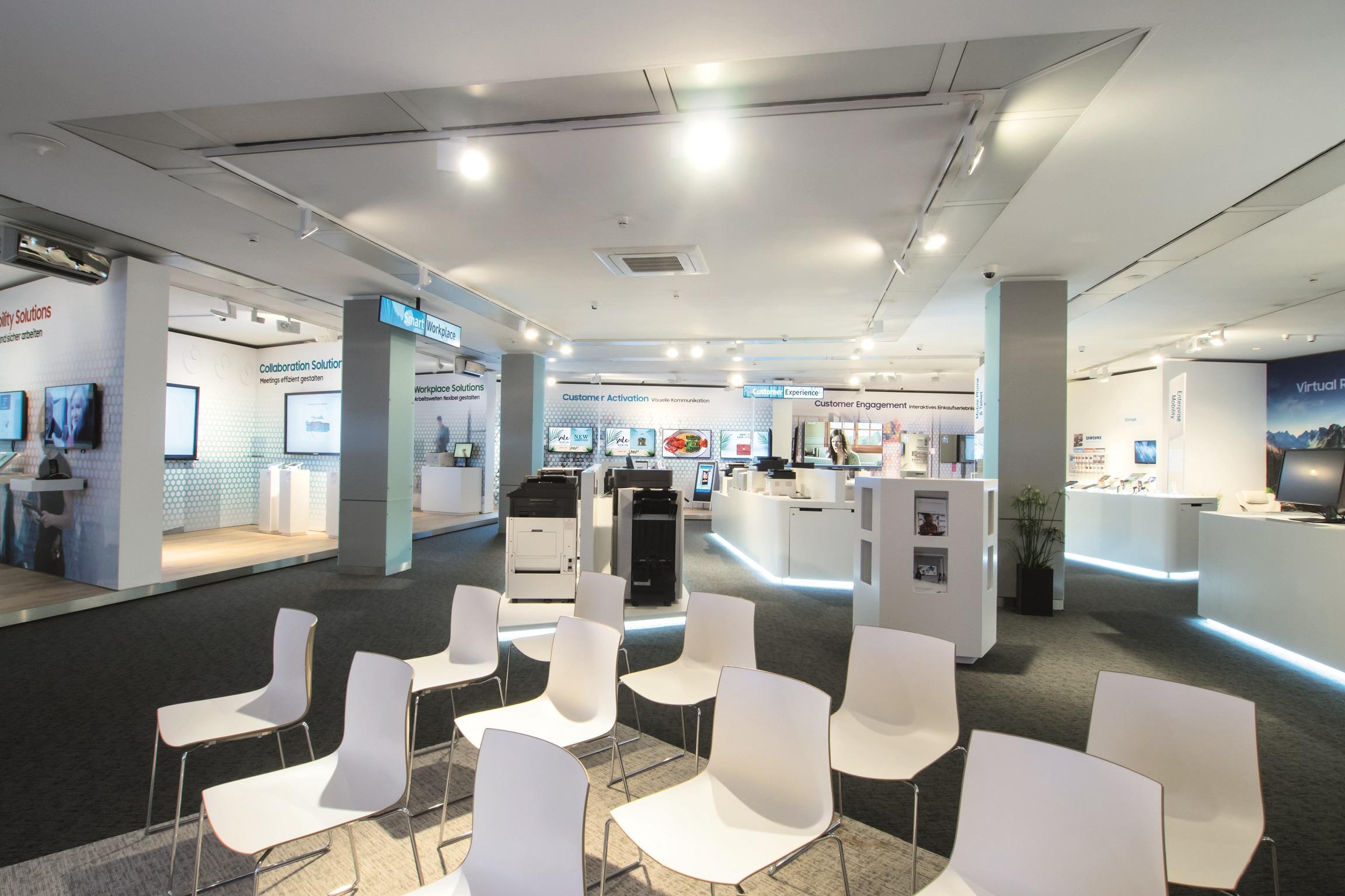 Executive Briefing Center Digitalisierung Zum Anfassen Samsung