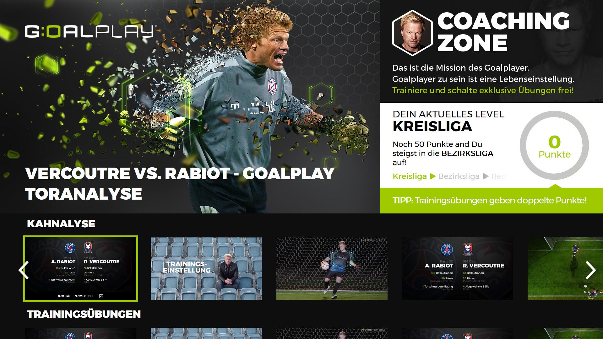 Anstoss Fur Goalplay Auf Samsung Smart Tvs Samsung Newsroom Deutschland