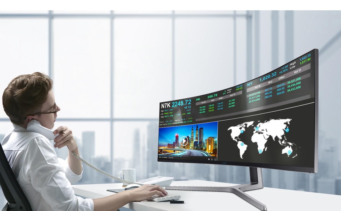 Work Hard – Play Hard: Der neue 10 Zoll Gaming Monitor von Samsung