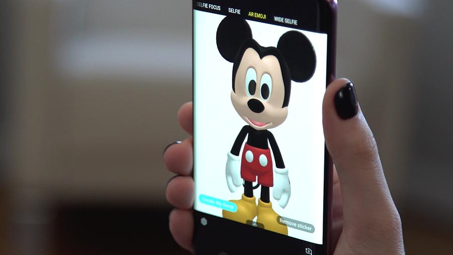 Disney Charaktere Ab Sofort Als Ar Emoji Auf Samsung Galaxy S9 Und