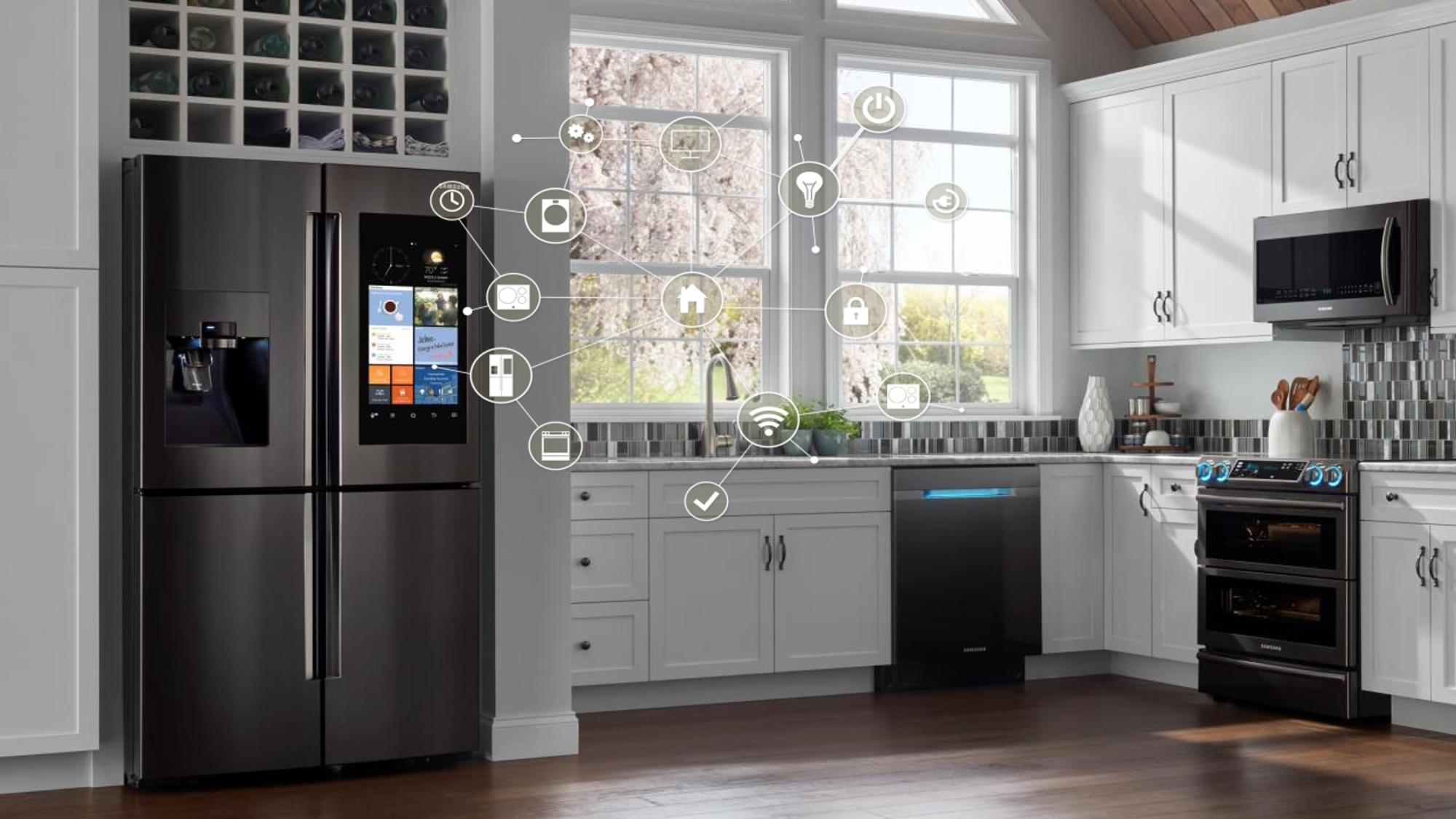 Vernetzte Küchen: Mit Samsung zum Wohnraum der Zukunft ...