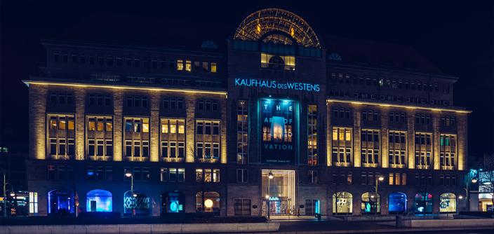 Samsung inszeniert seine wichtigsten Innovationen im KaDeWe in Berlin