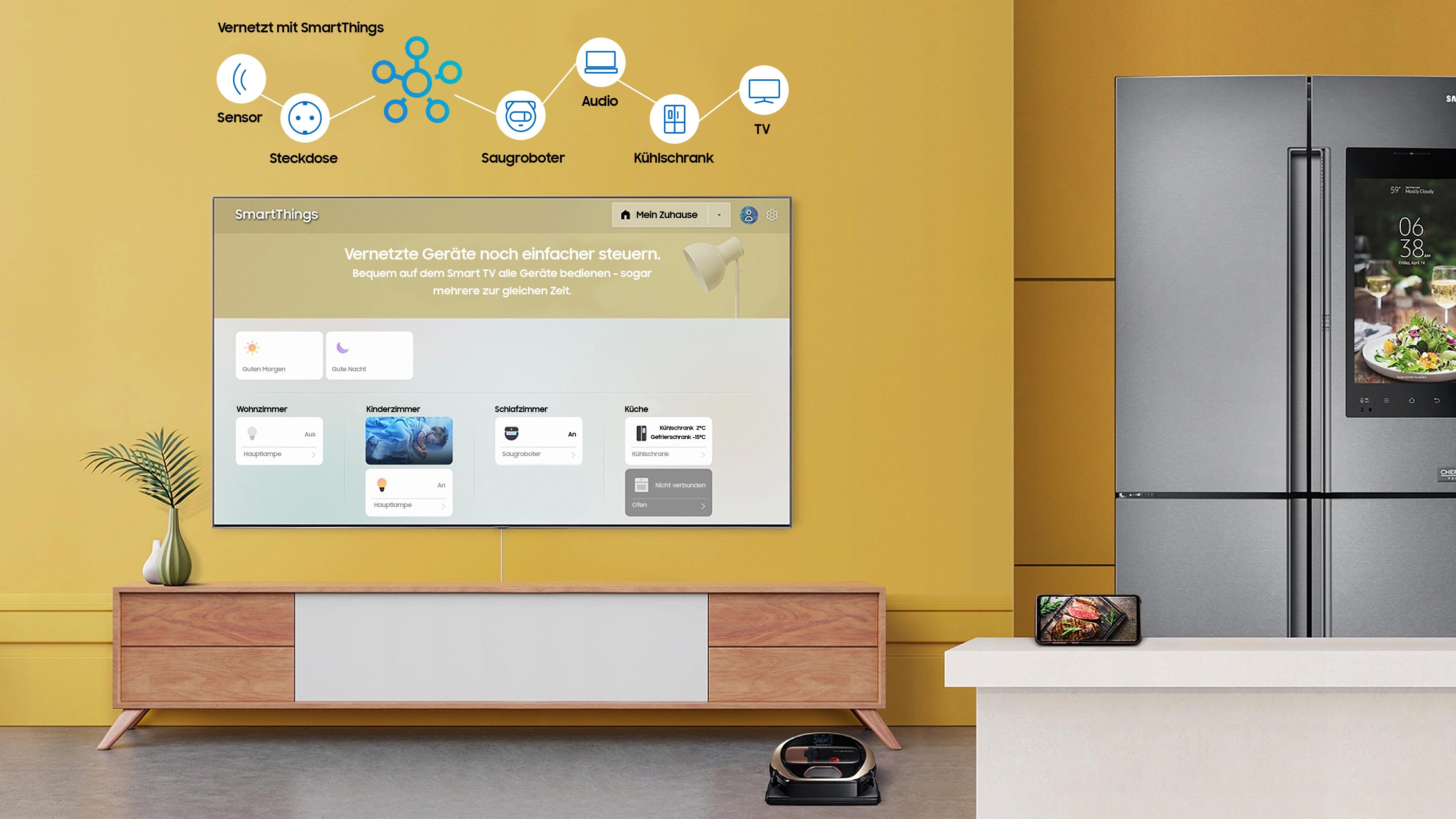 Connected Living Mehr Einfachheit Und Komfort Im Smart Home