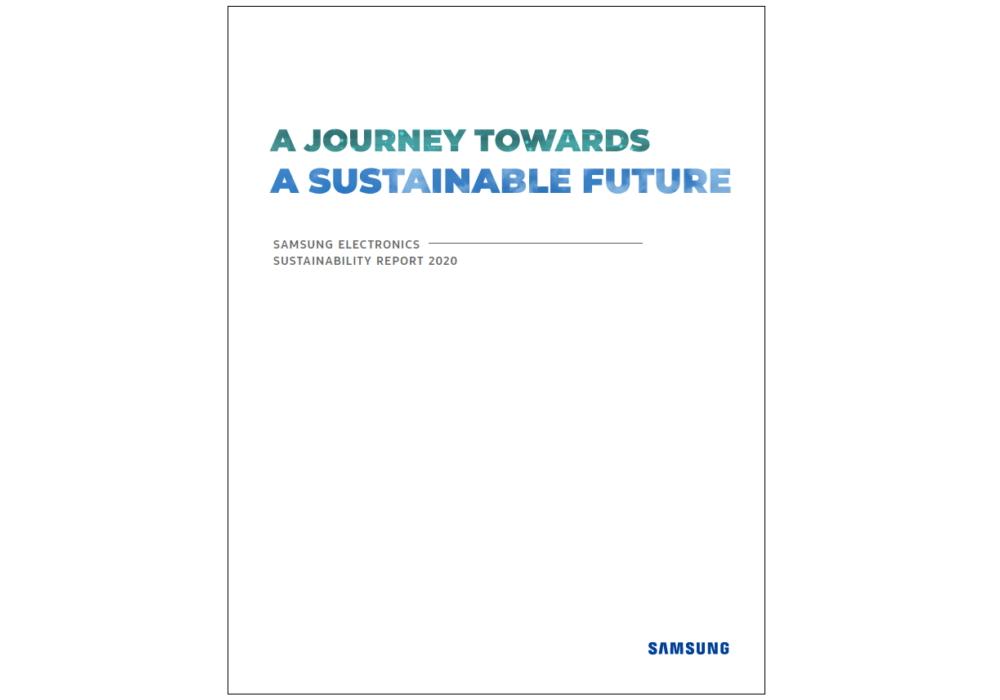 Titelseite_des_Samsung_Nachhaltigkeitsberichts_2020