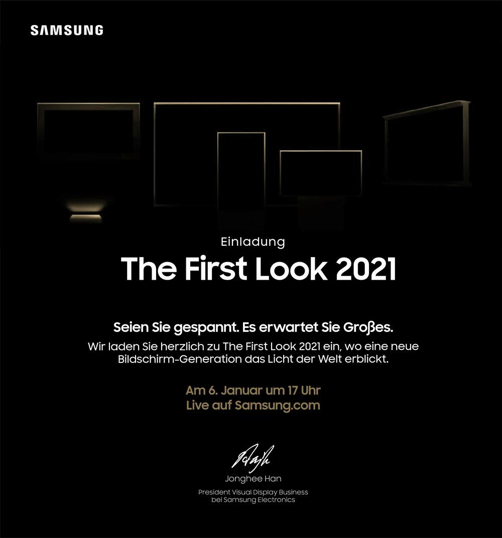 Einladungstext First Look Event 2021