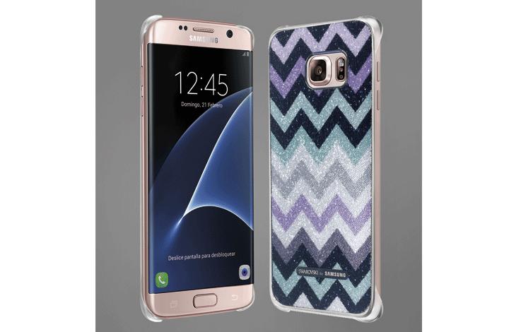 Ingenioso Personas mayores Precioso  Samsung Galaxy S7 edge SMARTgirl Edition, una edición especial limitada con  la sofisticación de los cristales de Swarovski – Samsung Newsroom España