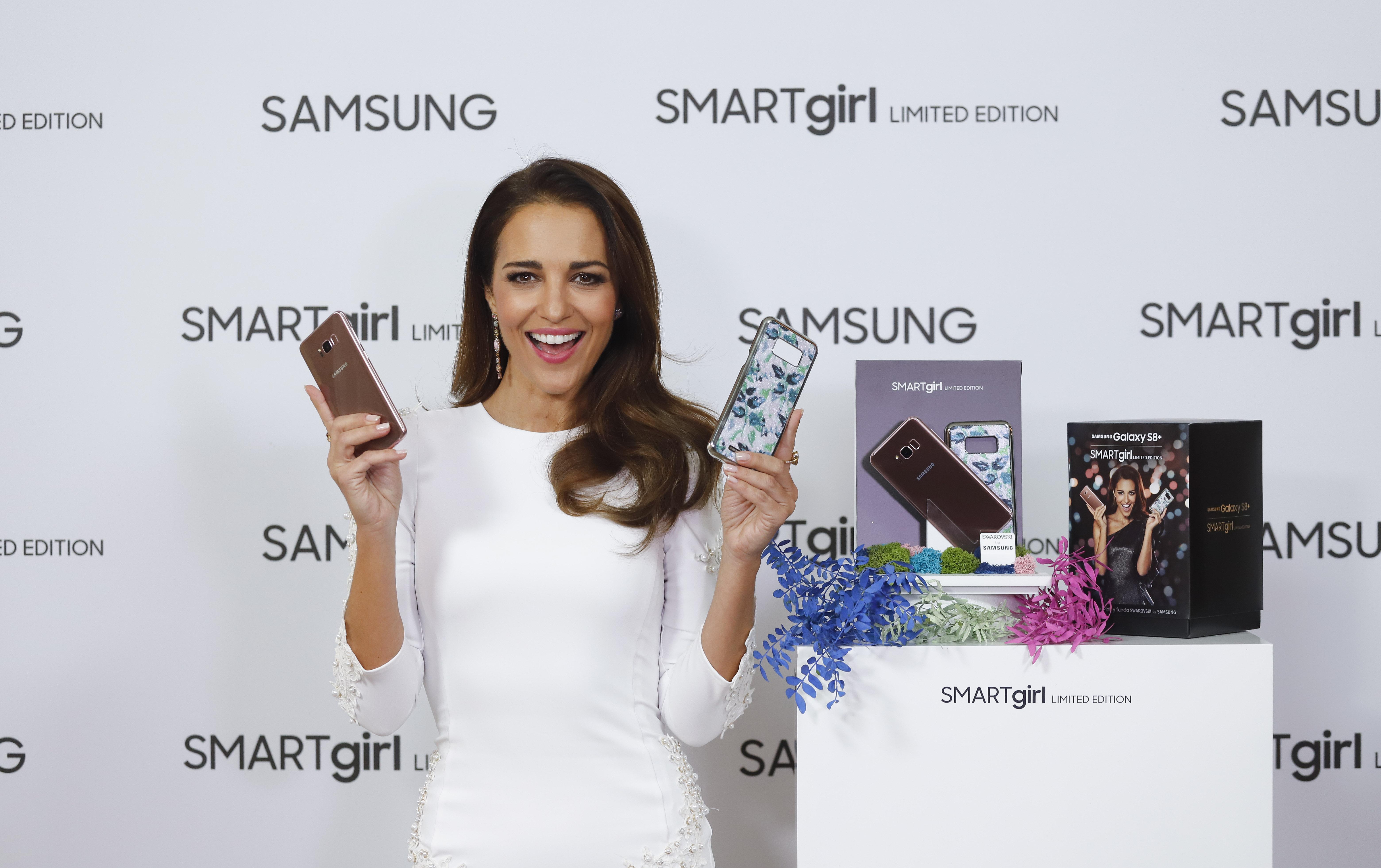 Consultar Fatídico Vegetación  Samsung y Paula Echevarría presentan la edición especial de Galaxy S8+  SMARTgirl Limited Edition – Samsung Newsroom España