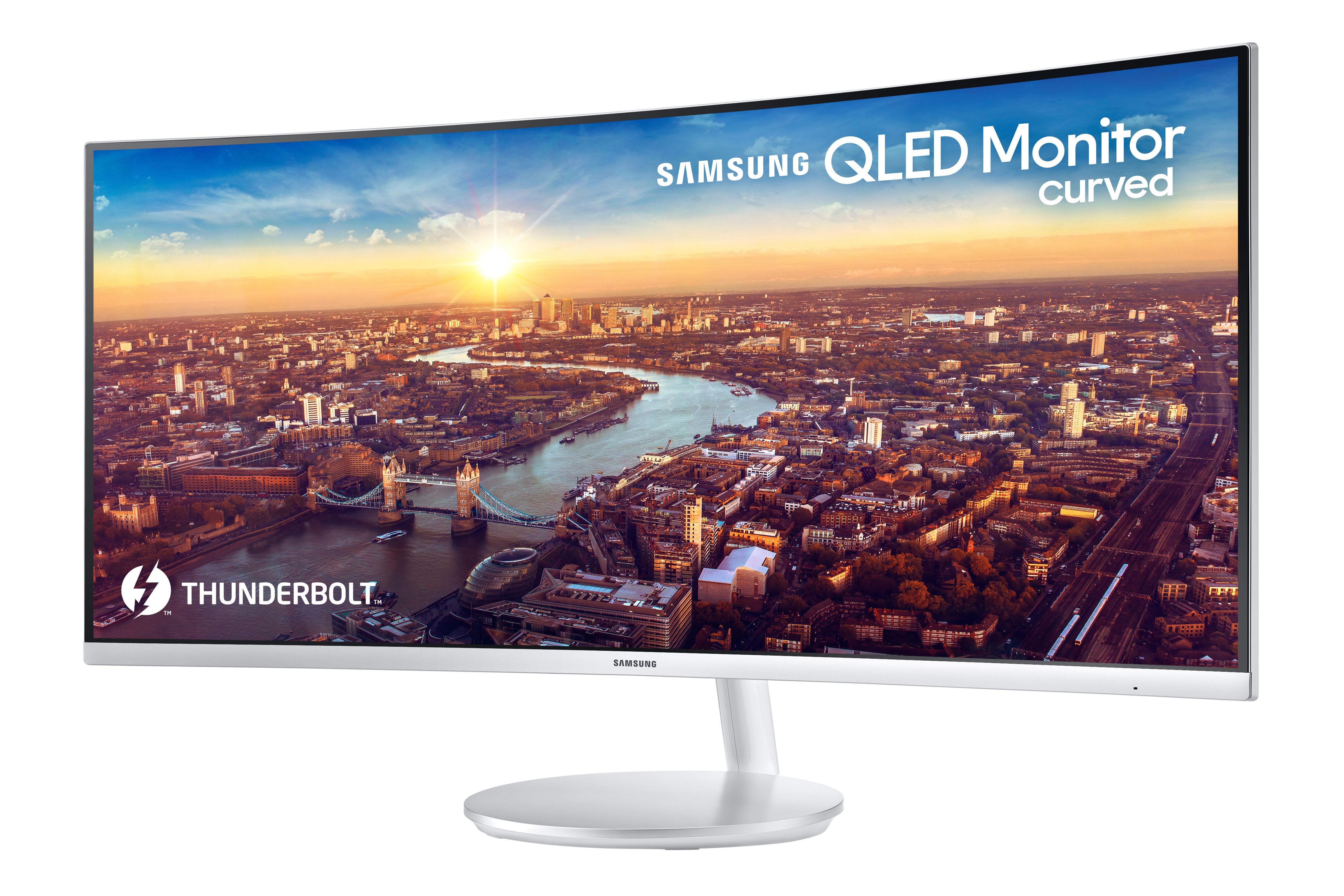 Samsung presenta en CES 2018 el primer monitor curvo QLED con ...