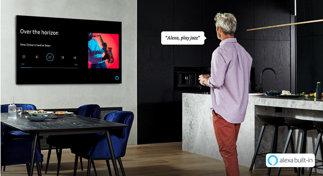 Samsung refuerza capacidades de voz en las Smart TV