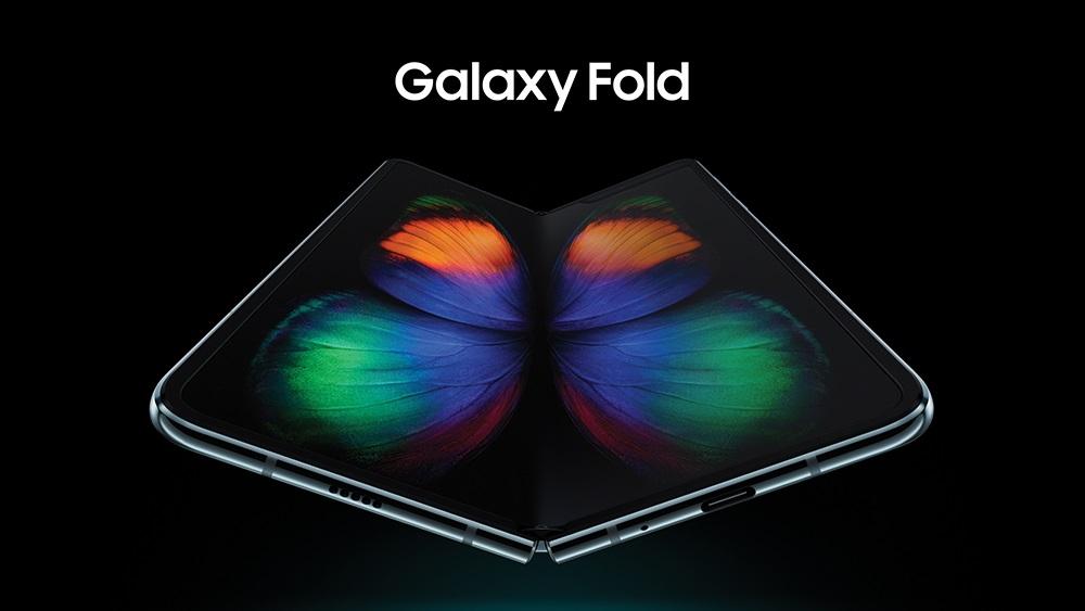 Galaxy Fold open