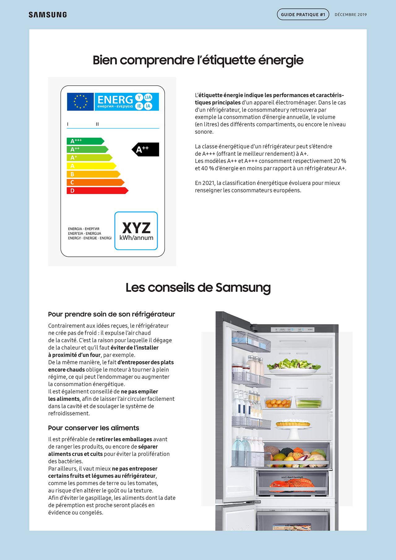 SAMSUNG - Guide pratique frigo 2019-4