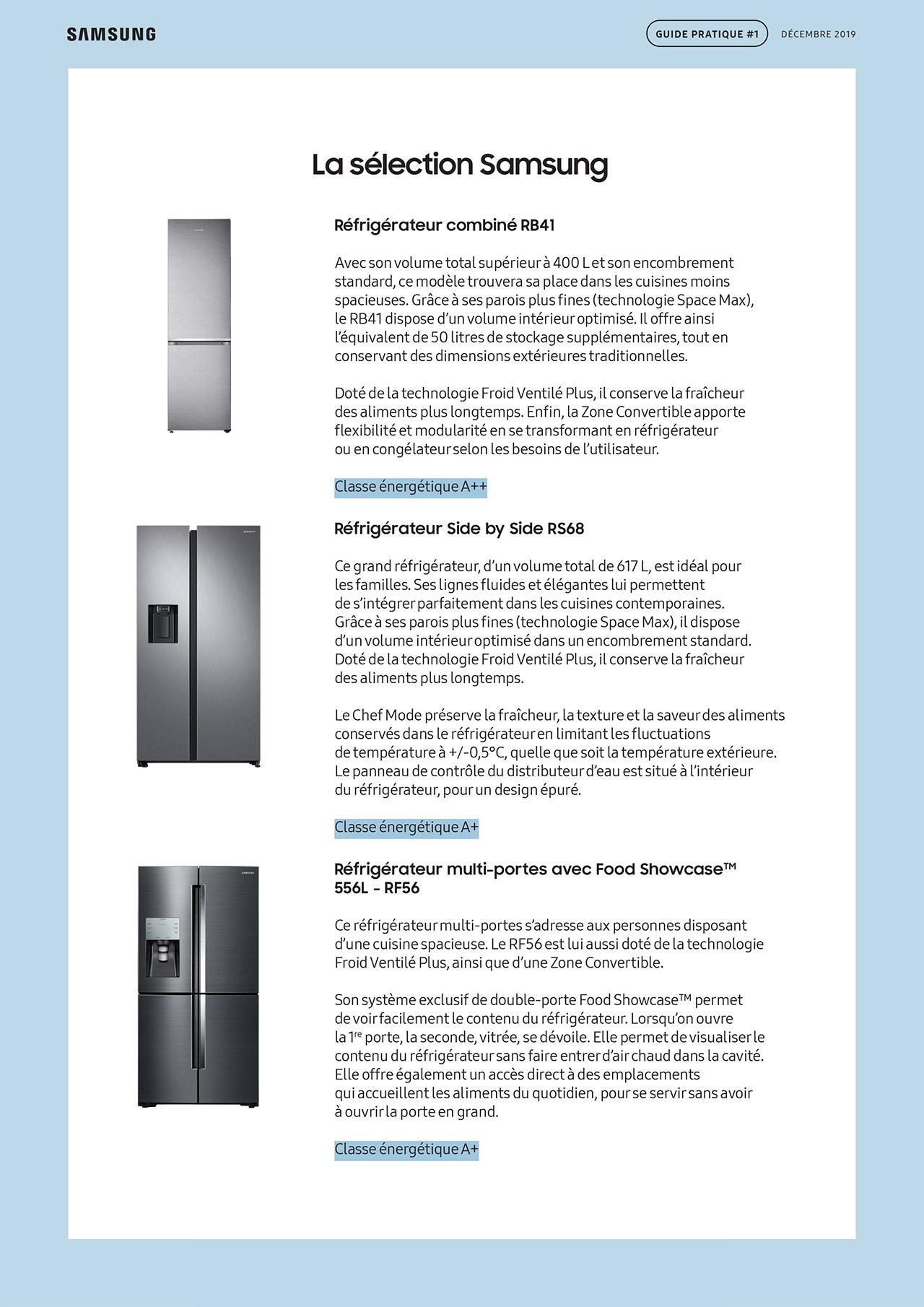 SAMSUNG - Guide pratique frigo 2019-5